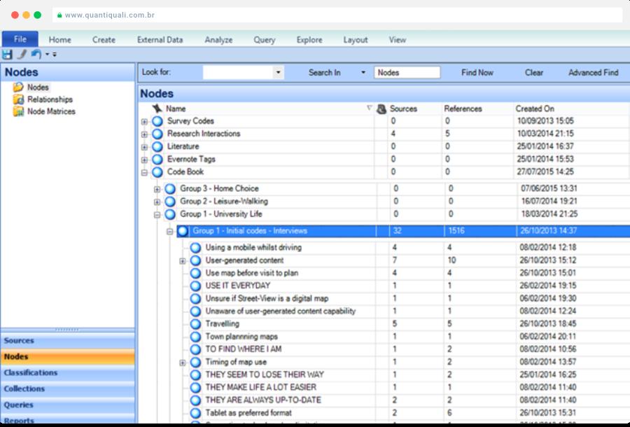 software qualitativo